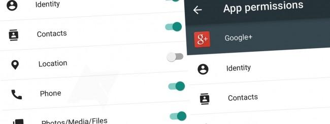 Android, permessi applicazioni