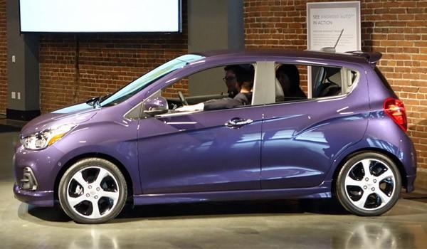 Il modello 2016 della Chevrolet Spark
