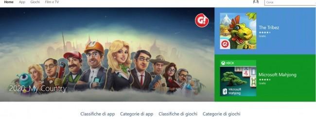 Store beta di Windows 10