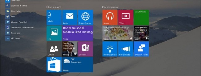 Windows Insider Preview, build 10122