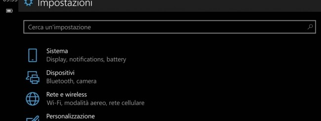 Windows 10 Mobile build 10080