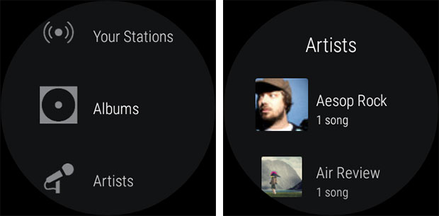 how to install spotify on android wear