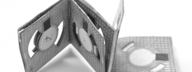 Batteria origami