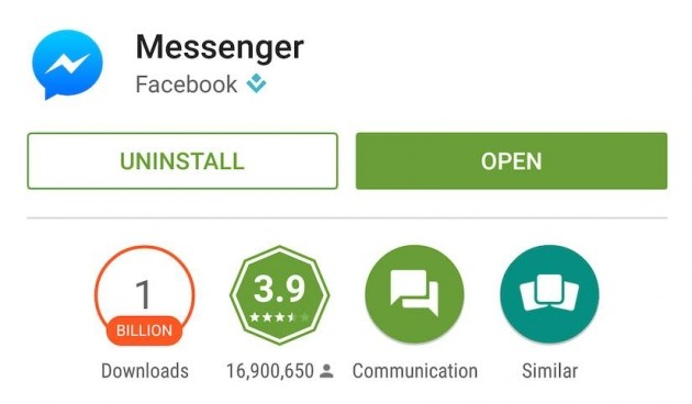 Facebook Messenger per Android