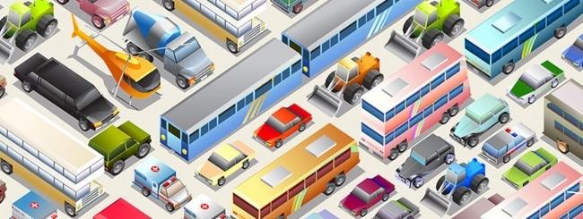 HERE 3D Transit