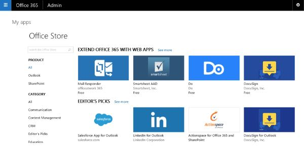 Office 365 Store