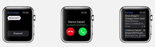 Apple Watch, app incluse