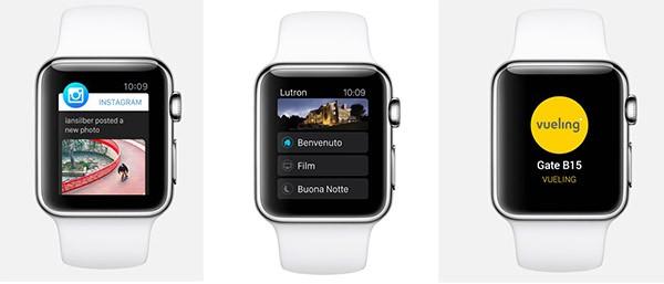 Apple Watch, app di terze parti