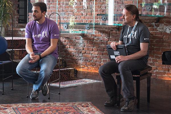 Andrew Wigley di Microsoft ha aperto oggi la tappa italiana del Build Tour