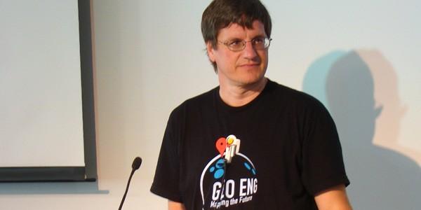 Brian McClendon nel 2011 al Google Geo User Summit
