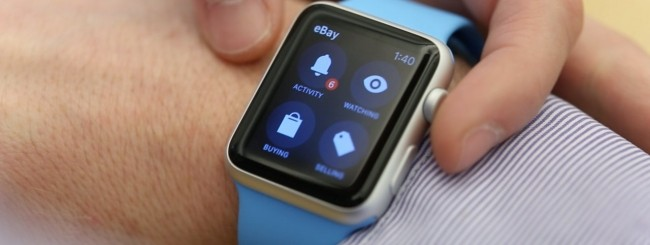 eBay per Apple Watch