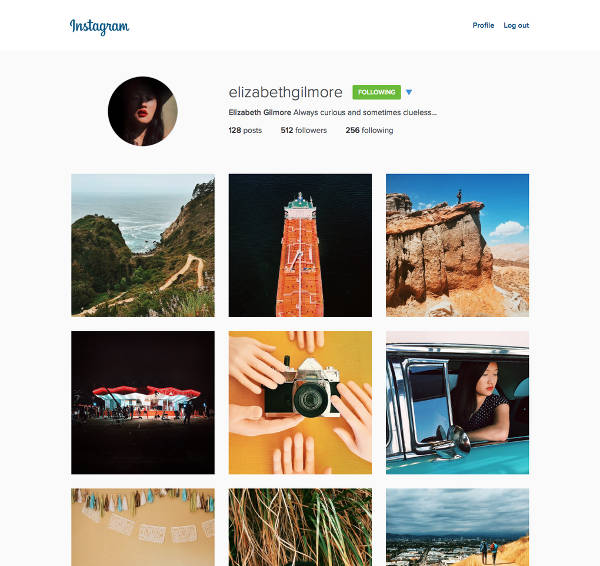 Instagram, nuovo layout