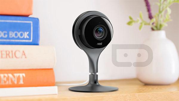 Una delle prime immagini promozionali per Nest Cam