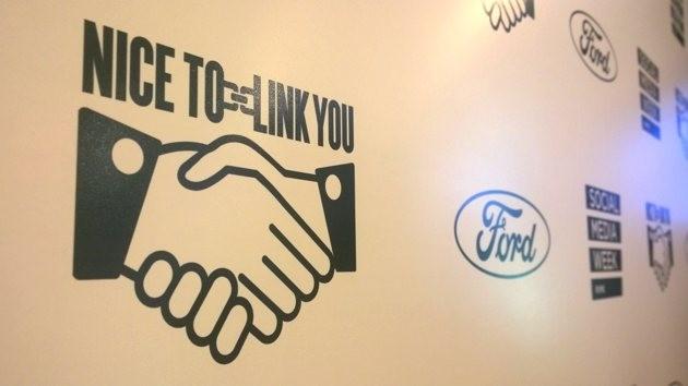 Nice to link you