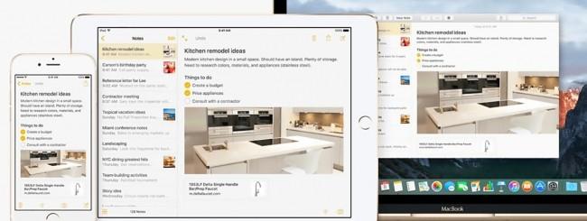 OS X El Capitan e iOS 9