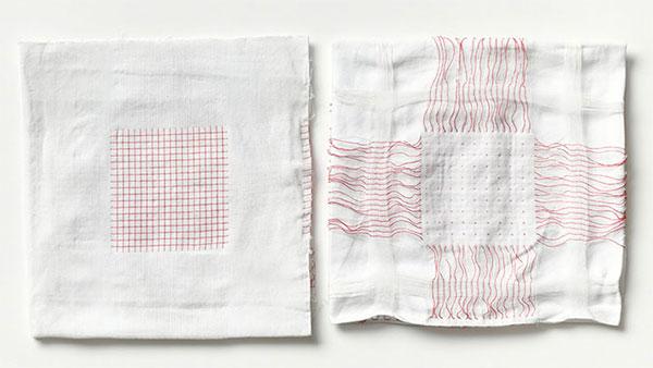 Un esempio di tessuto smart realizzato da Google per il Project Jacquard