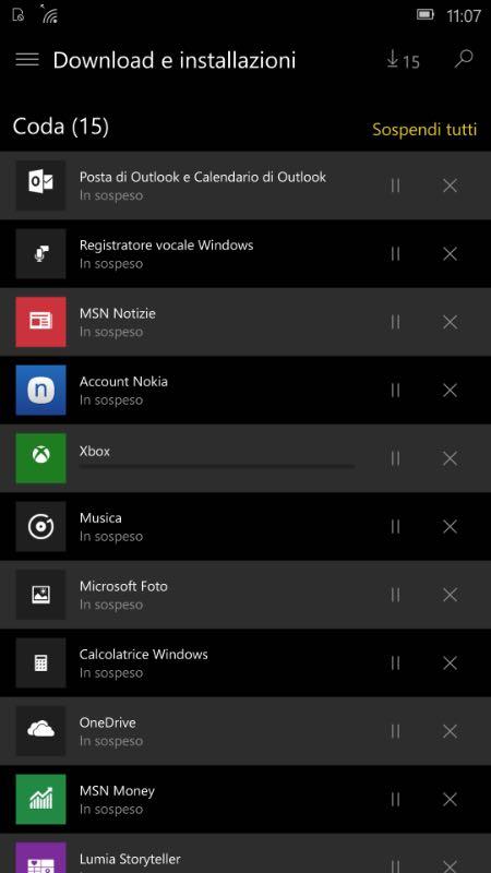 Windows 10 Mobile, tema dark per lo Store beta