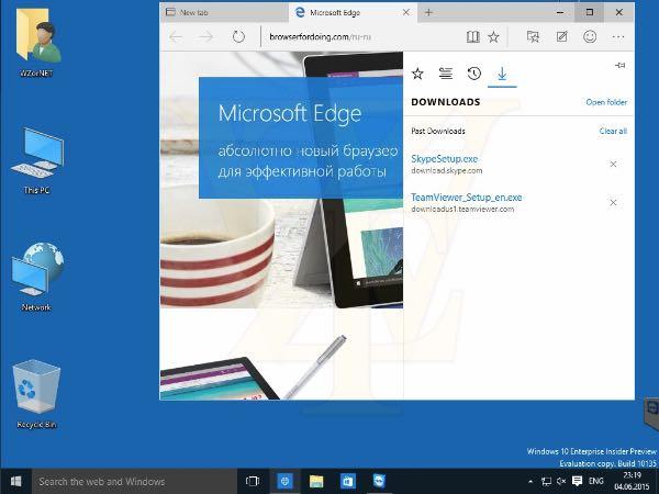Windows 10 build 10135