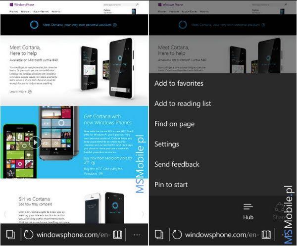 Windows 10 Mobile build 10149
