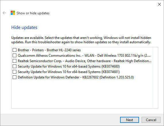 Windows 10, tool per bloccare gli update automatici