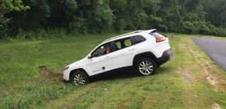 Jeep Cherokee senza freni