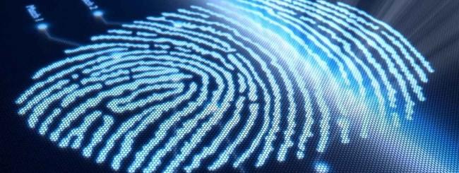 Scanner impronte