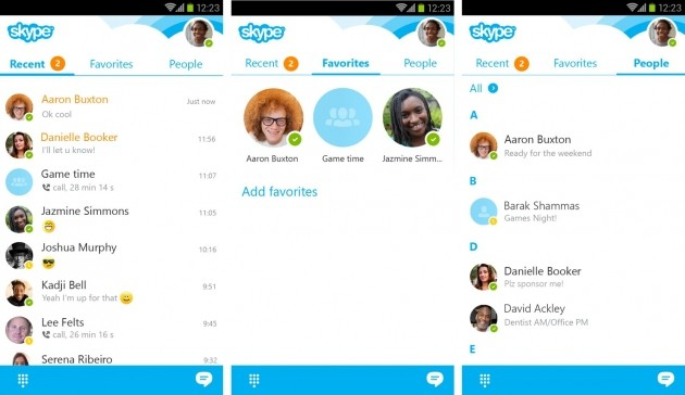 Skype 5.6 per Android