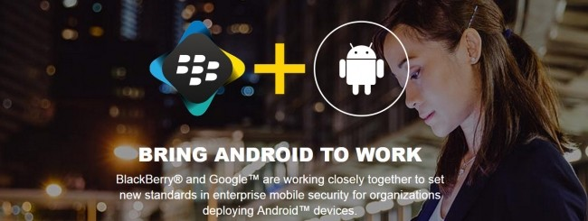 BlackBerry e Android