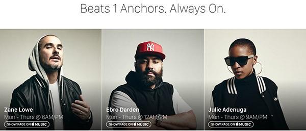 Beats 1, speaker