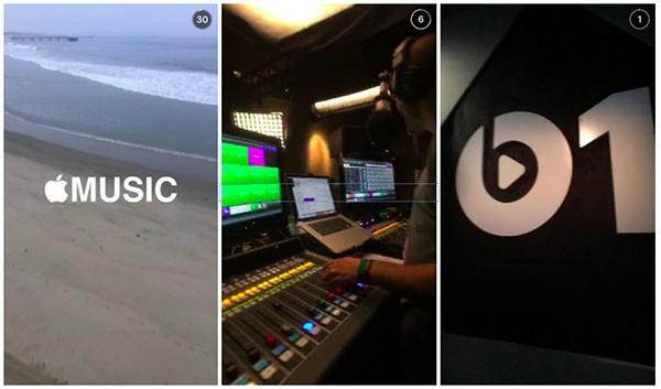 Beats 1 su Snapchat