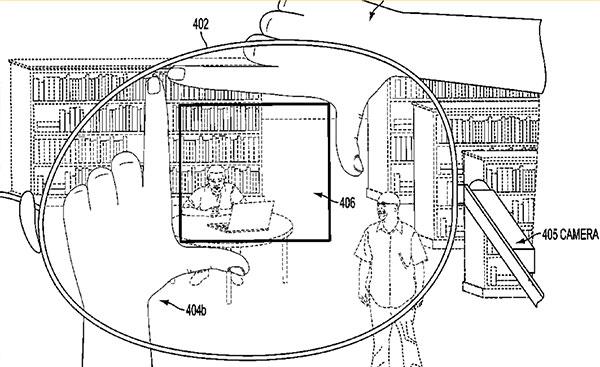 L'illustrazione che mostra il funzionamento del brevetto assegnato a Google
