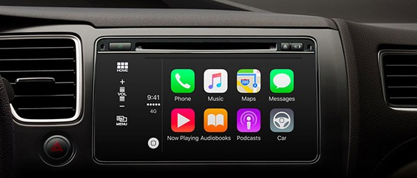 CarPlay su iOS 9