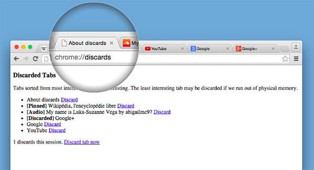 """La nuova funzionalità """"Tab Discarding"""" introdotta da Google nella versione Canary del browser Chrome"""
