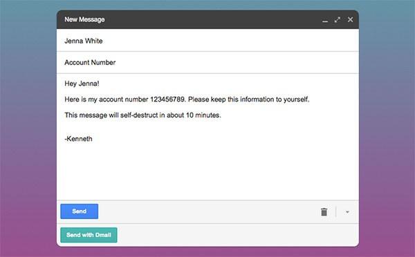 L'estensione Dmail per il browser Chrome