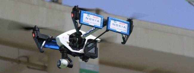 Nokia Networks, droni per la manutenzione delle reti