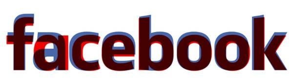 La comparazione tra logo vecchio (in blu) e logo nuovo (in rosso).
