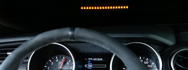 Ford, Performance Shift Light Indicator