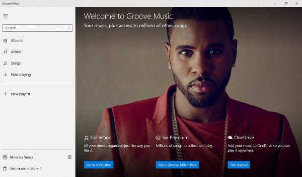 Nuove app Groove