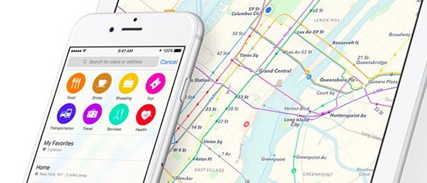 Mappe di iOS 9