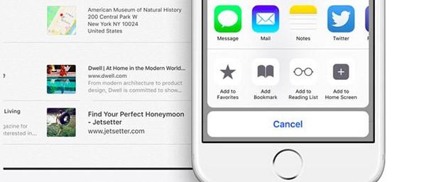 Note di iOS 9