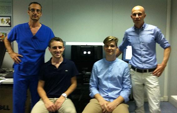 Pisa Cup: Vittorio Perrone, Alessandro Palma, Paolo Balestracci e Andrea Moglia (da sinistra a destra)