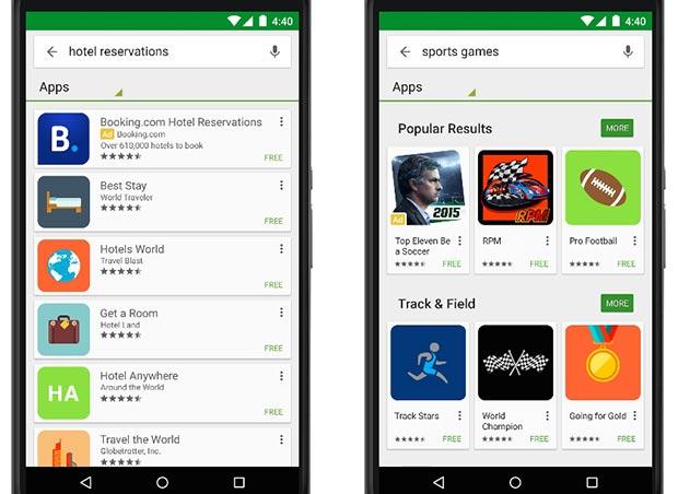 Google Play: arrivano le inserzioni sponsorizzate nei risultati delle ricerche