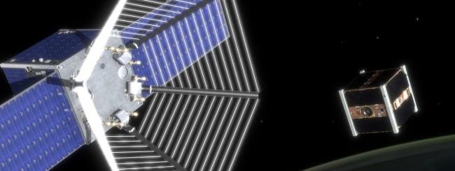 Satellite Pac-Man