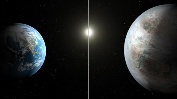 Pianeta Terra a confronto