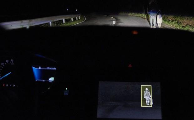 Visione notturna con sistema intelligente di bordo