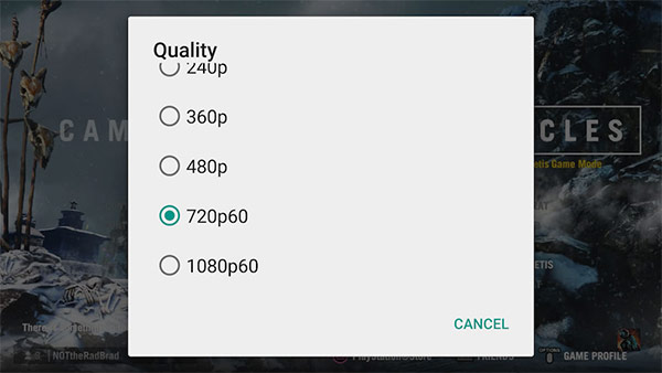 L'opzione per lo streaming video a 60 fps su YouTube è ora disponibile anche nelle applicazioni per Android e iOS