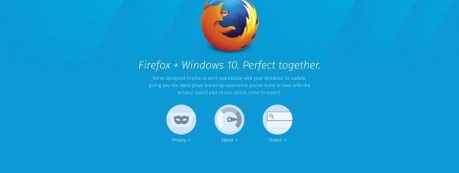 Firefox 40 per Windows 10