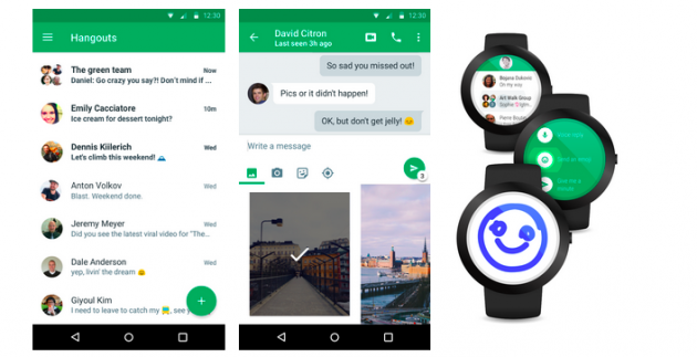 Hangouts 4.0 per Android