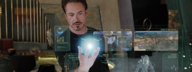 Iron Man Holographic Display