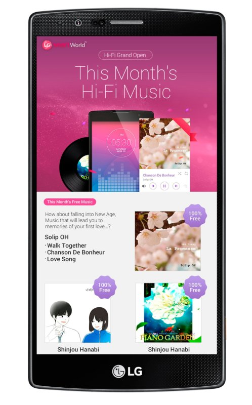 LG Hi-Fi Music
